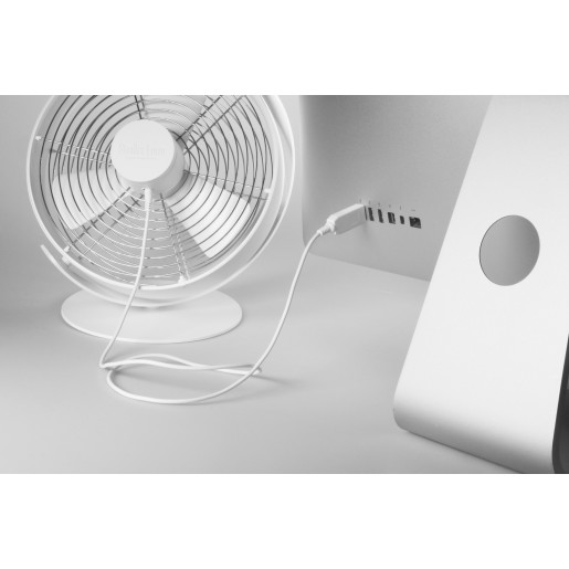 Ventilator TIM Alb